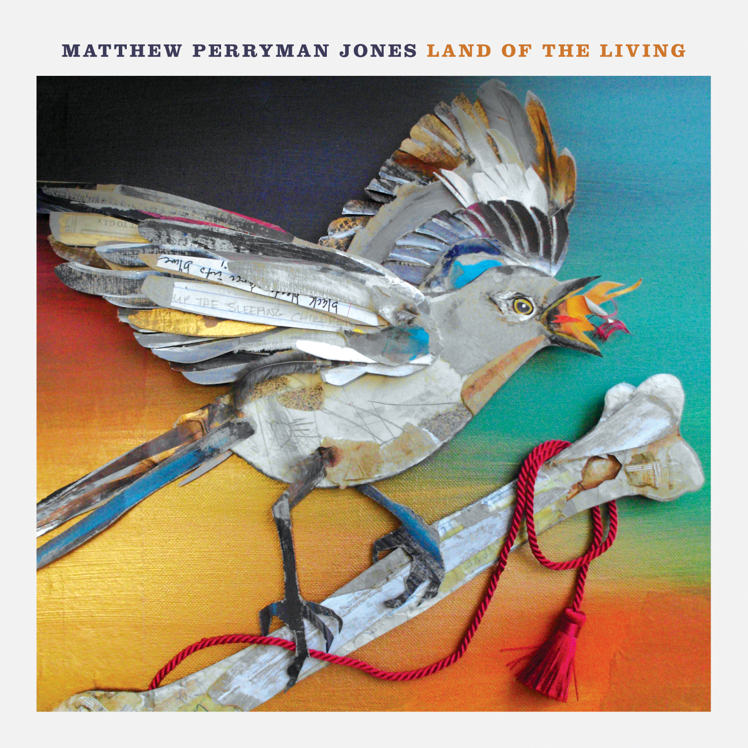 Matthew Perryman Jones: Land of the Living (vinyl LP)